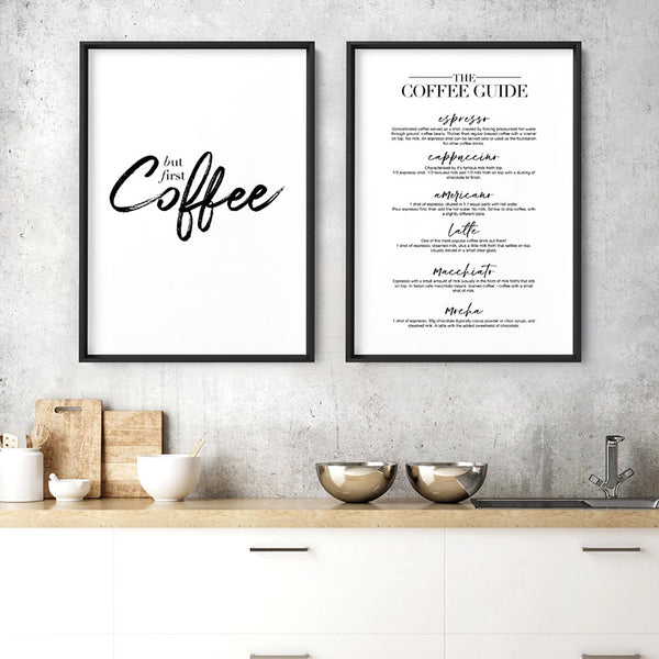 But First, Coffee - Art Print