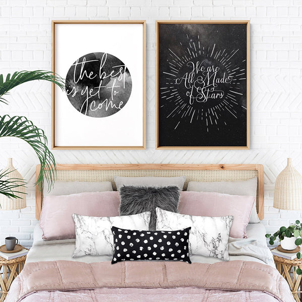 We are all Made of Stars - Art Print, Stretched Canvas, or Framed Canvas Wall Art