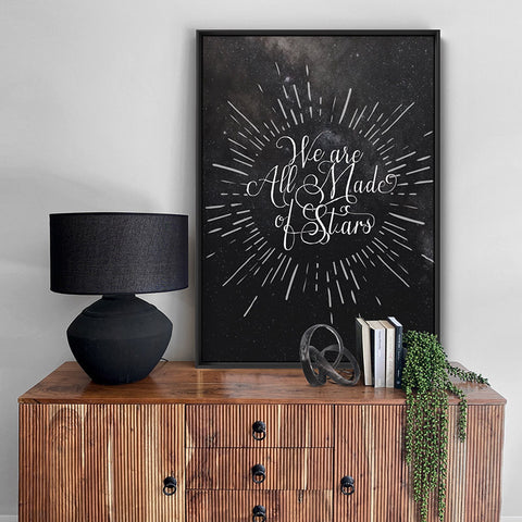 We are all Made of Stars - Art Print