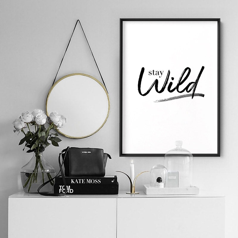 Load image into Gallery viewer, Stay Wild - Art Print