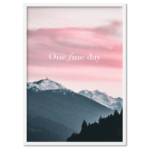 One Fine Day - Art Print, Stretched Canvas, or Framed Canvas Wall Art
