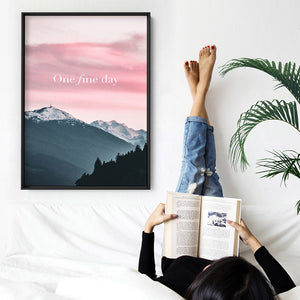 One Fine Day - Art Print