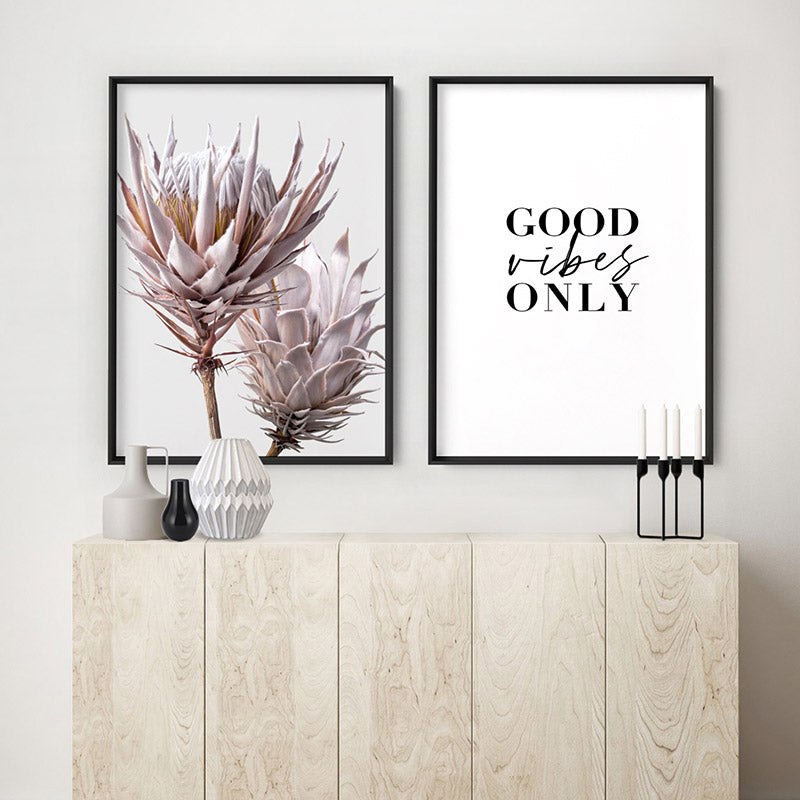 Load image into Gallery viewer, Good Vibes Only - Art Print