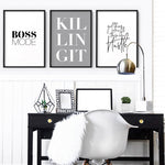 Boss Mode - Art Print, Stretched Canvas, or Framed Canvas Wall Art