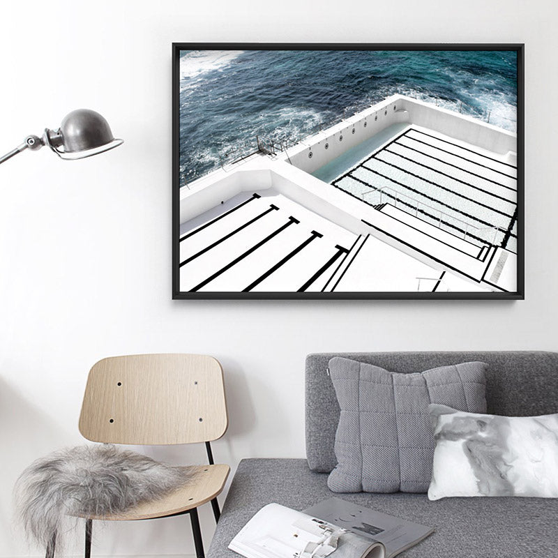 Load image into Gallery viewer, Bondi Icebergs Pool I - Art Print