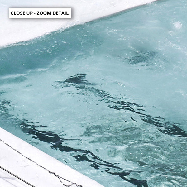 Bondi Icebergs Pool II - Art Print, Stretched Canvas, or Framed Canvas Wall Art