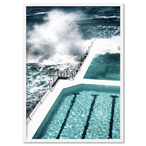 Load image into Gallery viewer, Bondi Icebergs Pool IV - Art Print