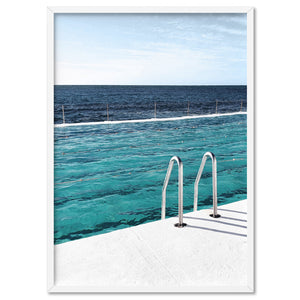 Bondi Icebergs Pool V - Art Print, Stretched Canvas, or Framed Canvas Wall Art