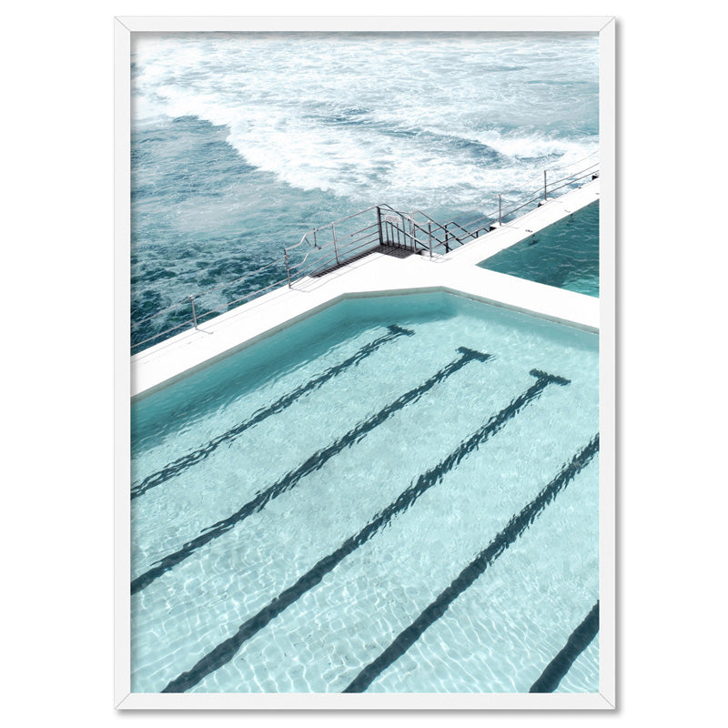 Load image into Gallery viewer, Bondi Icebergs Pool IX - Art Print, Stretched Canvas, or Framed Canvas Wall Art