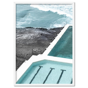 Bondi Icebergs Pool XII - Art Print, Stretched Canvas, or Framed Canvas Wall Art