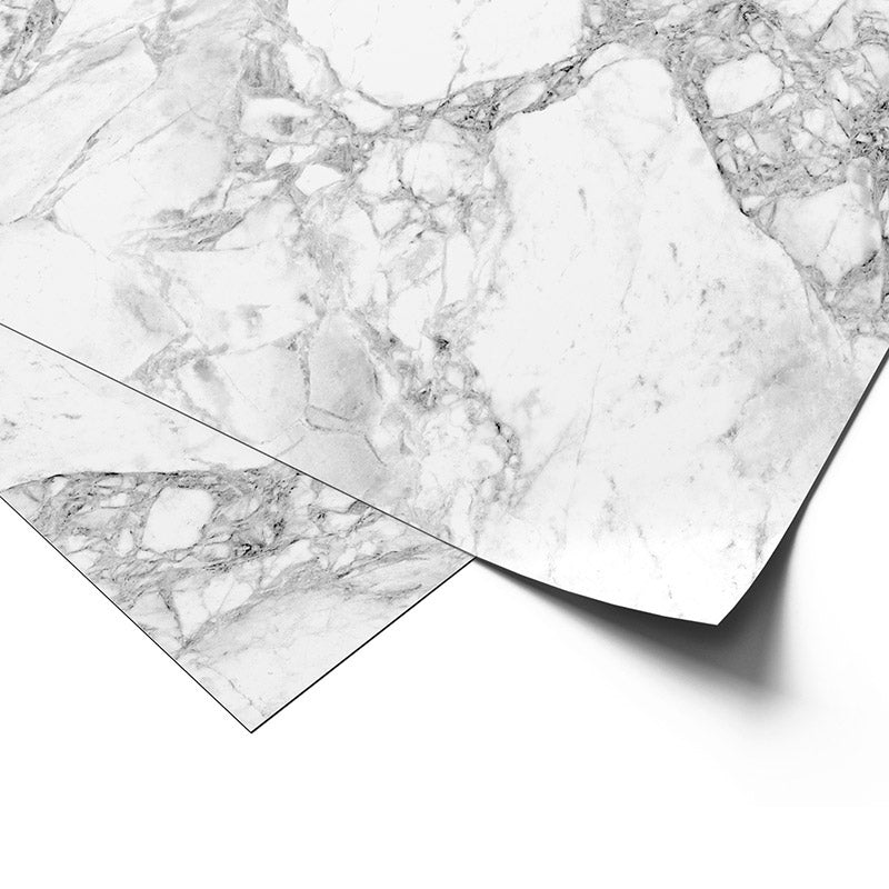 Premium Wrapping Paper in White Marble Design, close up view