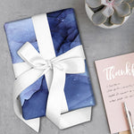 Luxe Gift Wrapping Paper Sheet - Watercolour Ink