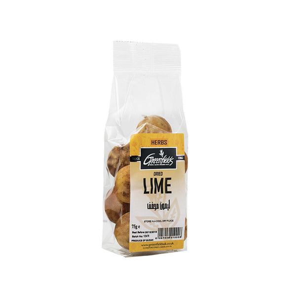 Dried Limes - Yellow
