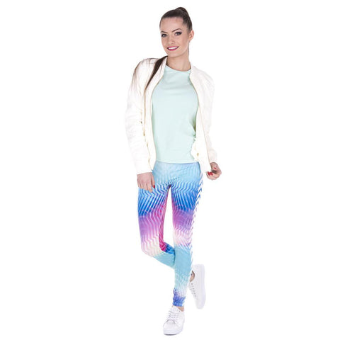 Zohra Aerobic Arrow Fitness Leggings