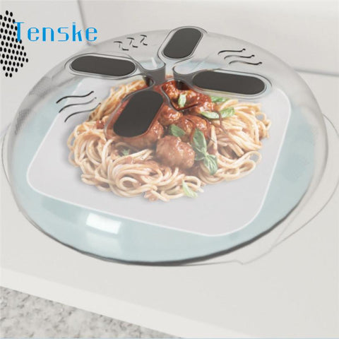 Hover Cover Microwave Lid