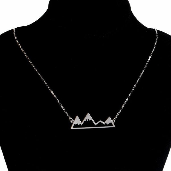 Rosa Vila Mountain Necklace for Outdoor Lovers