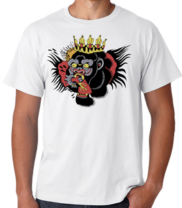 Gorrila Face Tattoo T Shirt
