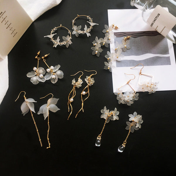 2019 New Handmade Flower Boho Earrings
