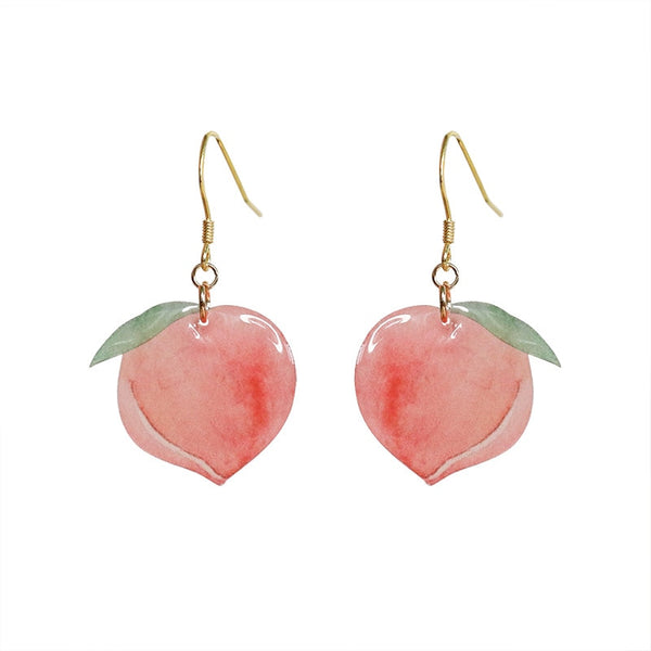 Sweet Pink Peach Dangling earring