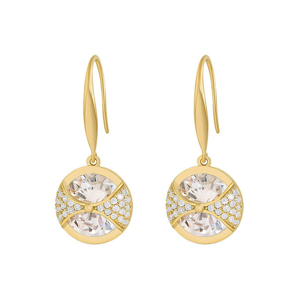 2021 New Arrival Trendy Crystal Universe Theme Earrings