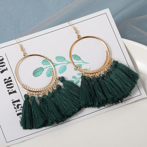 New Fashion Bohemian Tassel Earrings for Women