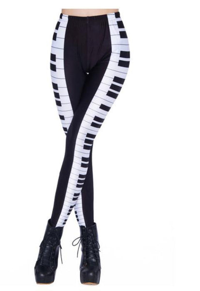 *TRENDING* Keyboard Piano Leggings