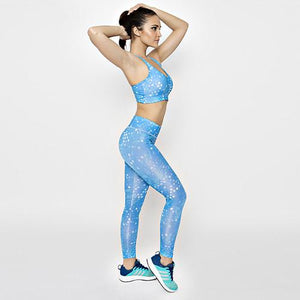 Ice Diamond Leggings with FREE CROP TOP