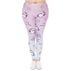 Big Hearts Leggings Unicorn