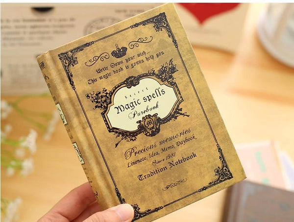 Magic Spells Pocket Note Book