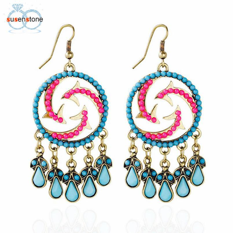 Boho Beach Tassel Ear Earring