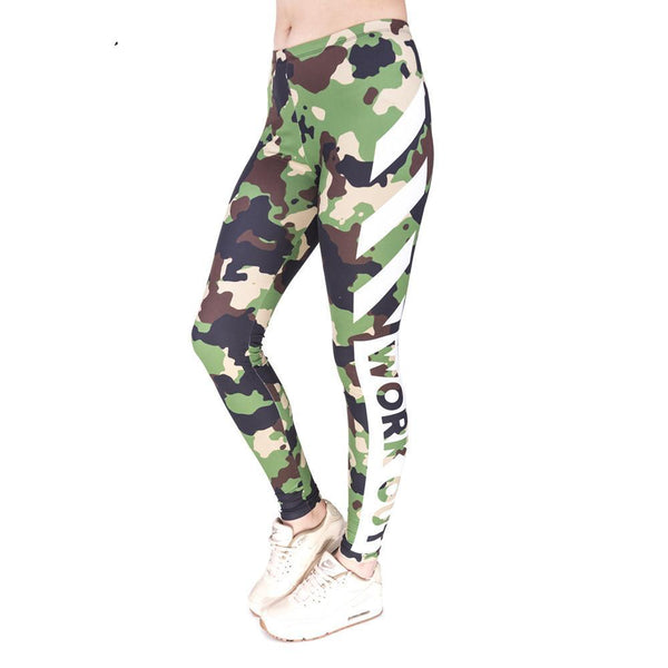 Attitude Camo Leggings