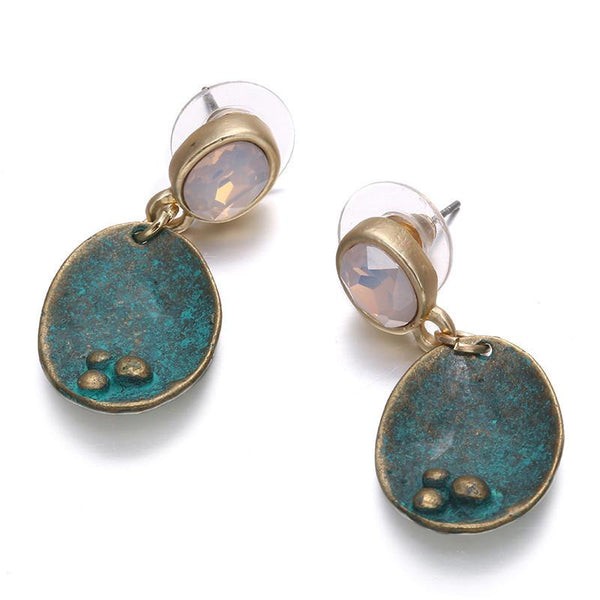 Classic Boho Opal Earrings