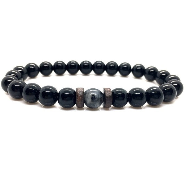 Natural Lava Stone Beads- Diffuser Bracelet