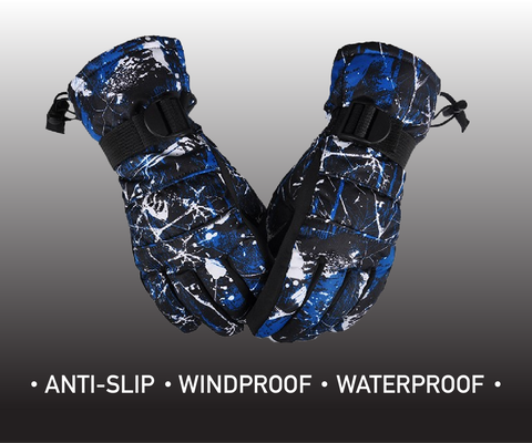 Ski Mechanics Waterproof Ski Gloves