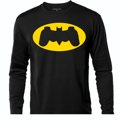 BATMAN CONTROLLER LONG SLEEVE TEE