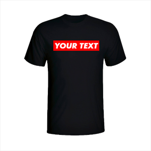 Custom Text Shirt