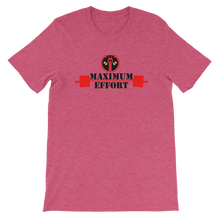Load image into Gallery viewer, DEADPOOL  MAXIMUM EFFORT WORKOUT T-SHIRT