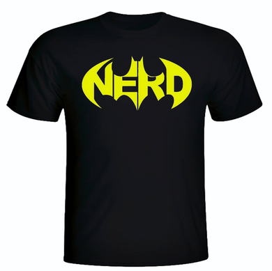 BATMAN NERD SHORT SLEEVE TEE