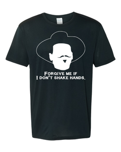 DOC HOLLIDAY TOMBSTONE - FORGIVE ME IF I DON'T SHAKE HANDS COLLECTION