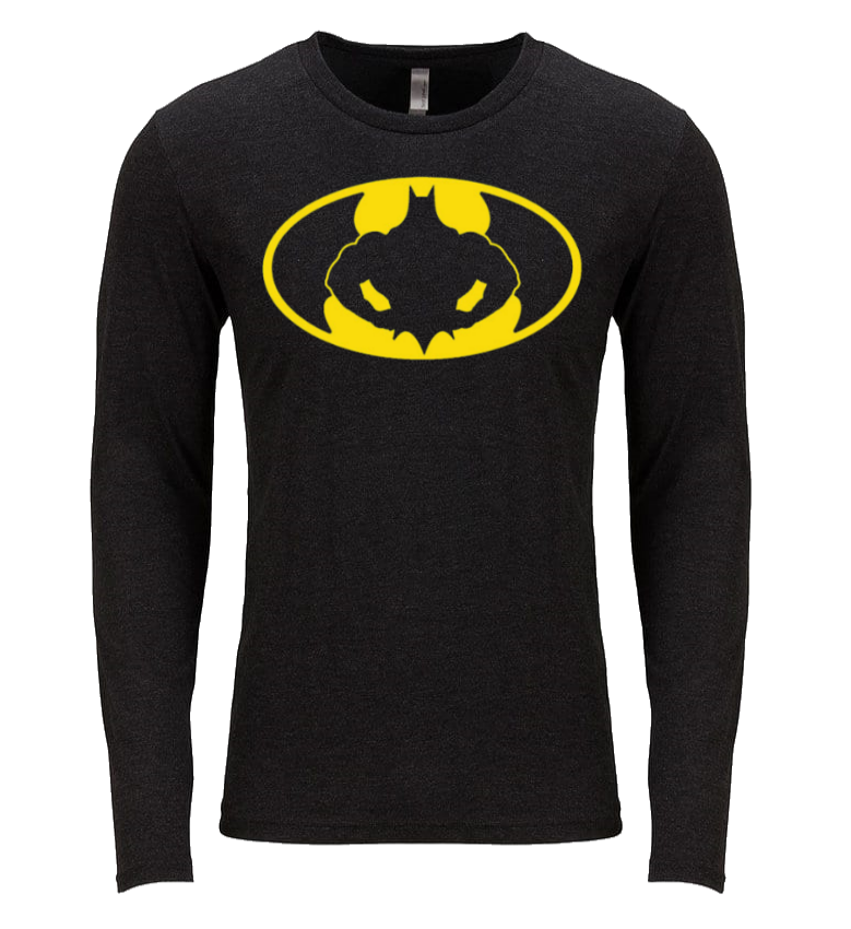 BATMAN FLEX LONG SLEEVE T SHIRT / PERFORMANCE T