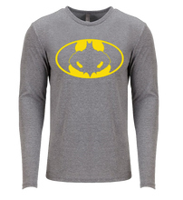 Load image into Gallery viewer, BATMAN FLEX LONG SLEEVE T SHIRT / PERFORMANCE T
