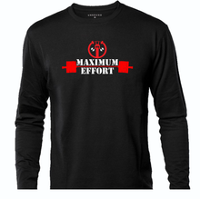 Load image into Gallery viewer, DEADPOOL MAXIMUM EFFORT LONG T-SHIRT