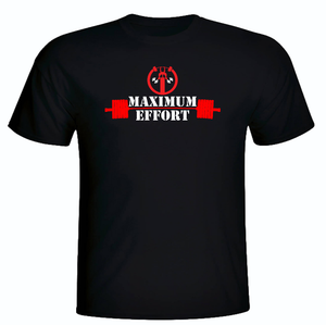 DEADPOOL  MAXIMUM EFFORT WORKOUT T-SHIRT
