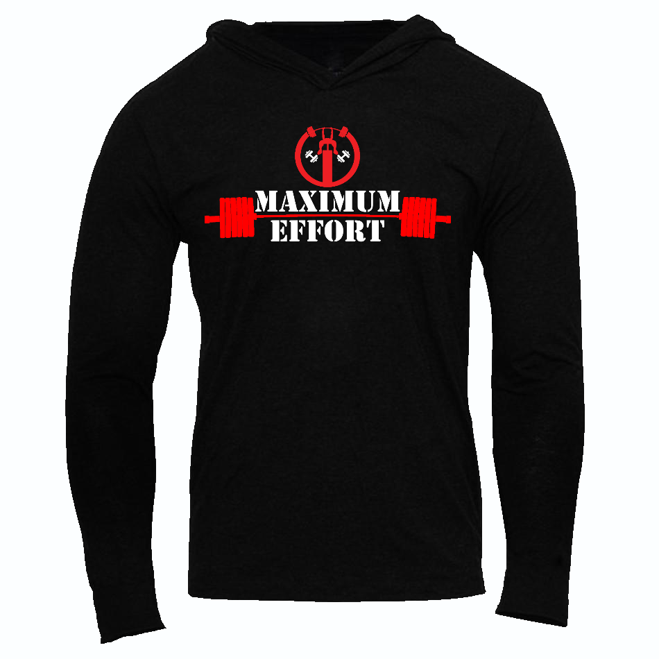 DEADPOOL  MAXIMUM EFFORT SLIM FIT PERFORMANCE WORKOUT HOODIE