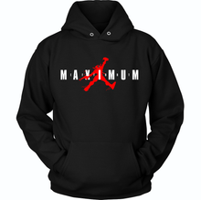 Load image into Gallery viewer, DEADPOOL JORDAN JUMPMAN MAXIMUM EFFORT HOODIE