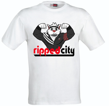 Load image into Gallery viewer, Ripped City T-Shirt Portland Trailblazers