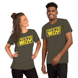 THE MANDALORIAN - I HAVE SPOKEN - THIS IS THE WAY T-Shirt
