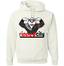 Load image into Gallery viewer, Ripped City Hoodie - Portland Trailblazers