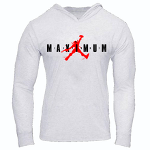 Load image into Gallery viewer, DEADPOOL JORDAN JUMPMAN MAXIMUM EFFORT SLIM FIT PERFORMANCE WORKOUT HOODIE