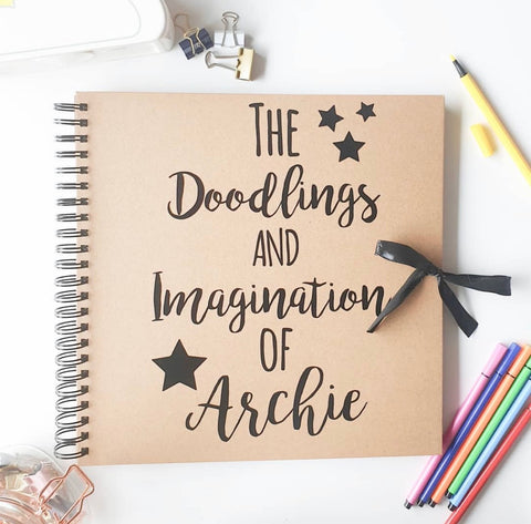 The Doodlings & Imagination Scrapbook
